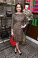ellie kemper zosia mamet buddy up at kate spade new york leopard pop up shop 14