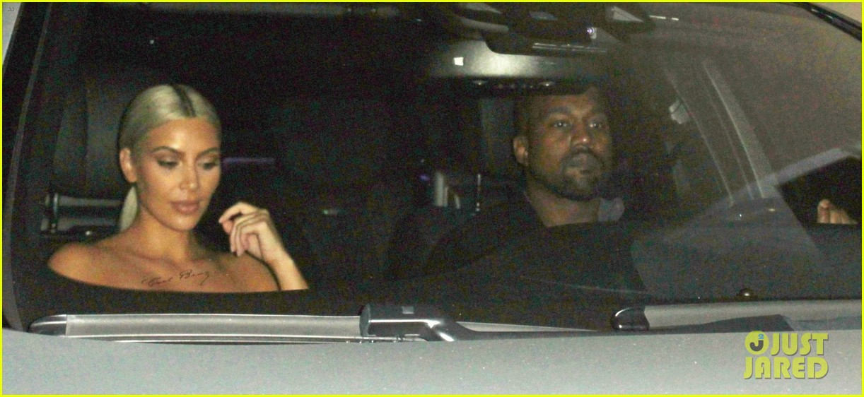 kim kardashian kanye west date night 09