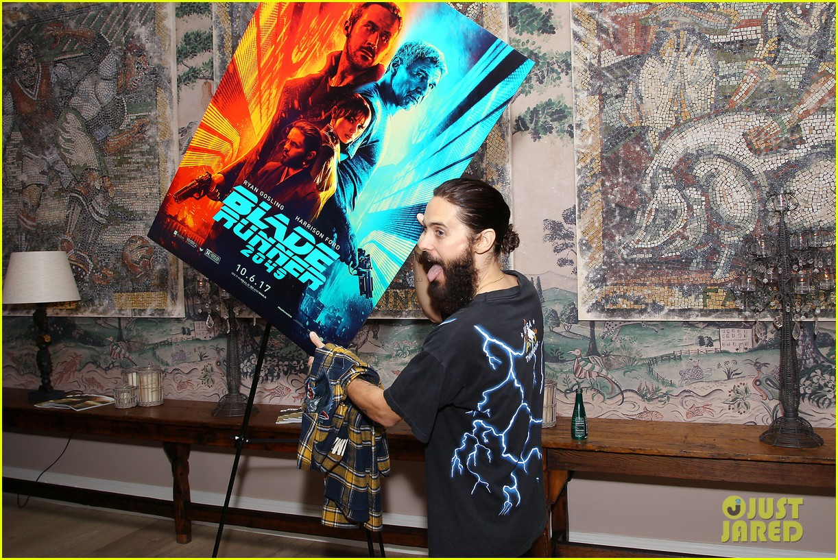 jared leto attends blade runner 2049  screening in nyc 113965043