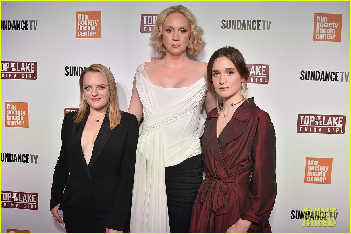 elisabeth moss gwendoline christie alice englert premiere top of the lake china girl 01