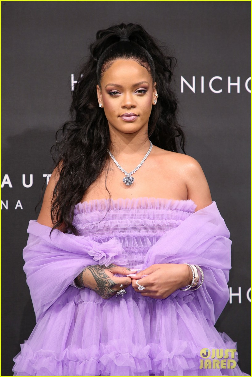 rihanna fenty beauty launch london 023960952