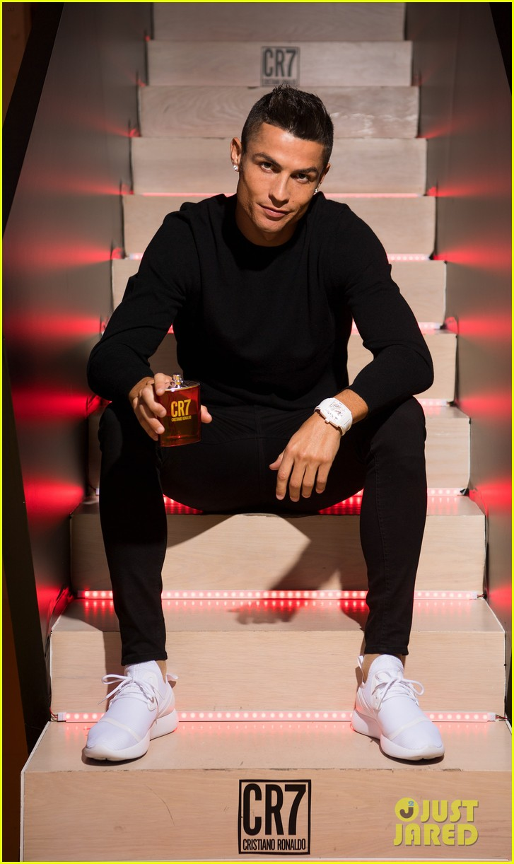 cristiano ronaldo fragrance launch event 103954748