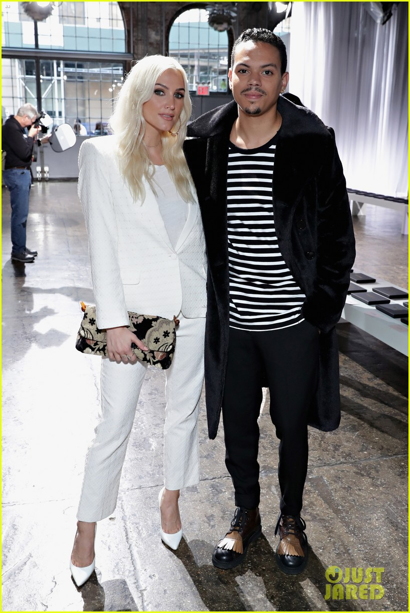 ashlee simpson and evan ross couple up for nyfw zadig voltaire nyfw show 083955528