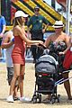 robin thicke girlfriend april love geary shows off her tiny baby bump 09