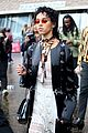 fka twigs salma hayek check out christopher kane fashion show 03