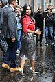 fka twigs salma hayek check out christopher kane fashion show 06