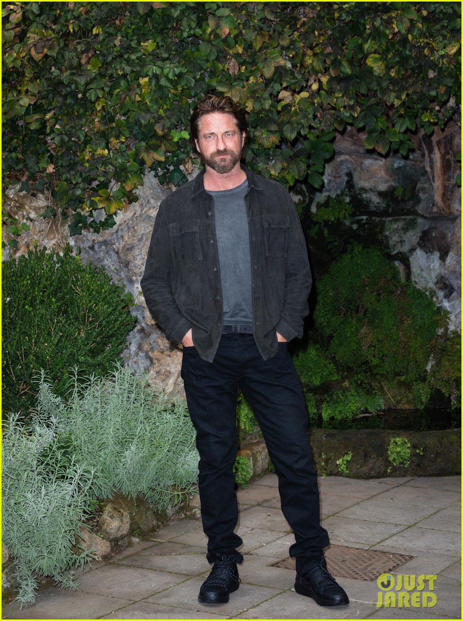 gerard butler rome photo call geostorm 21