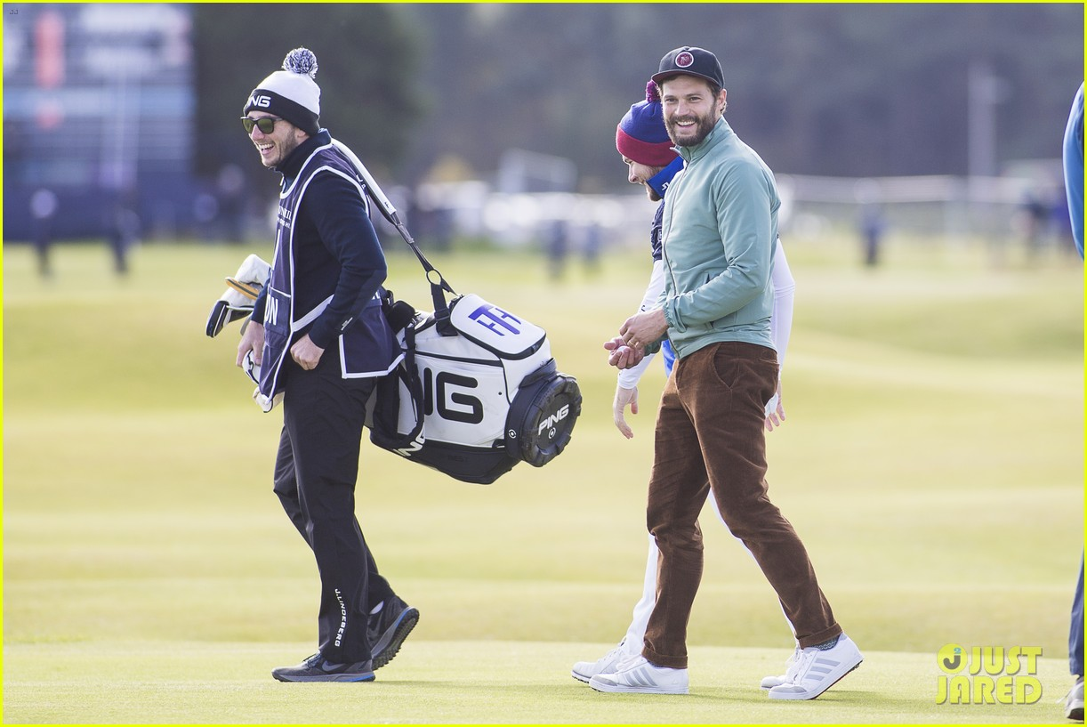 jamie dornan plays in alfred dunhill golf championship 11