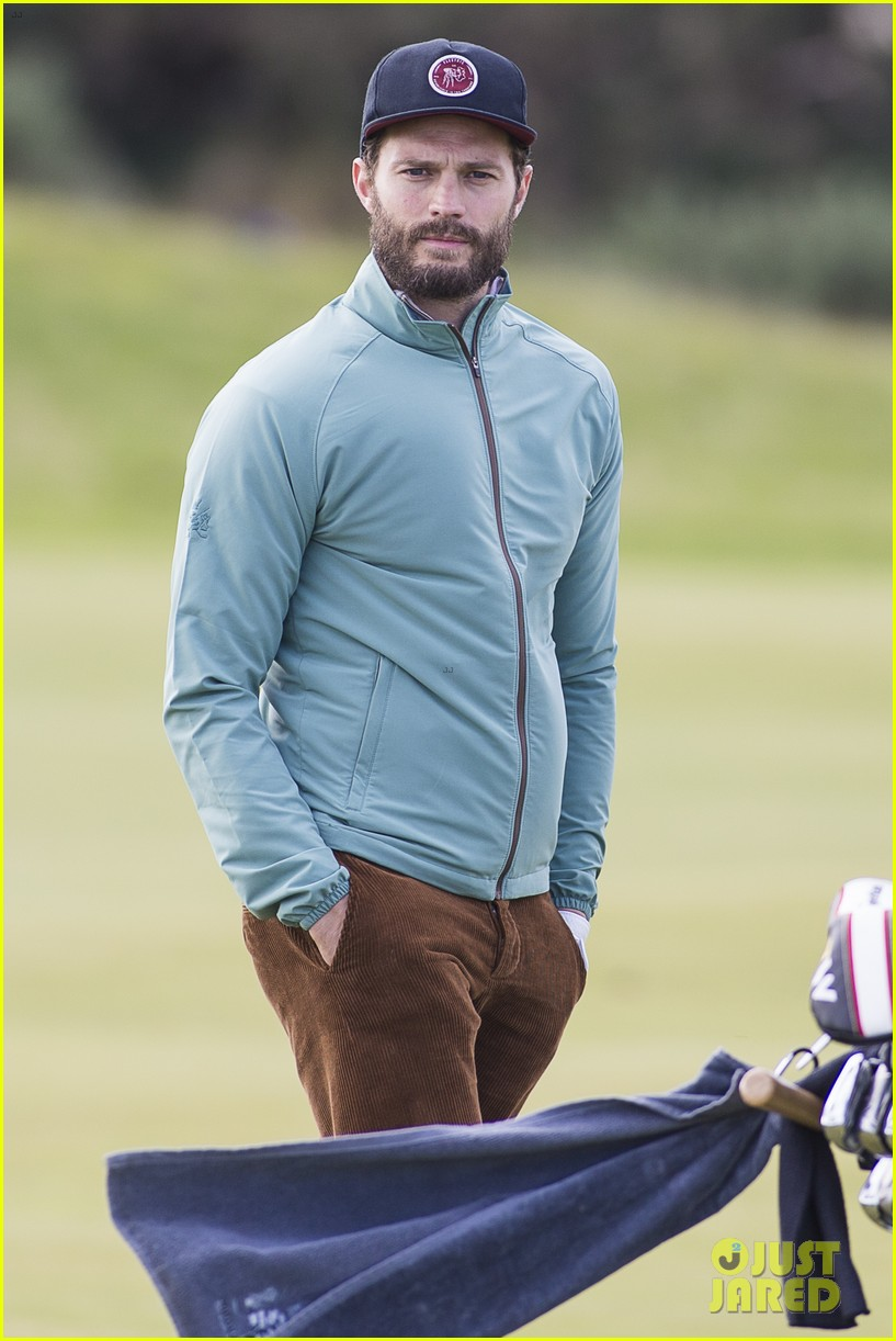 jamie dornan plays in alfred dunhill golf championship 173968668