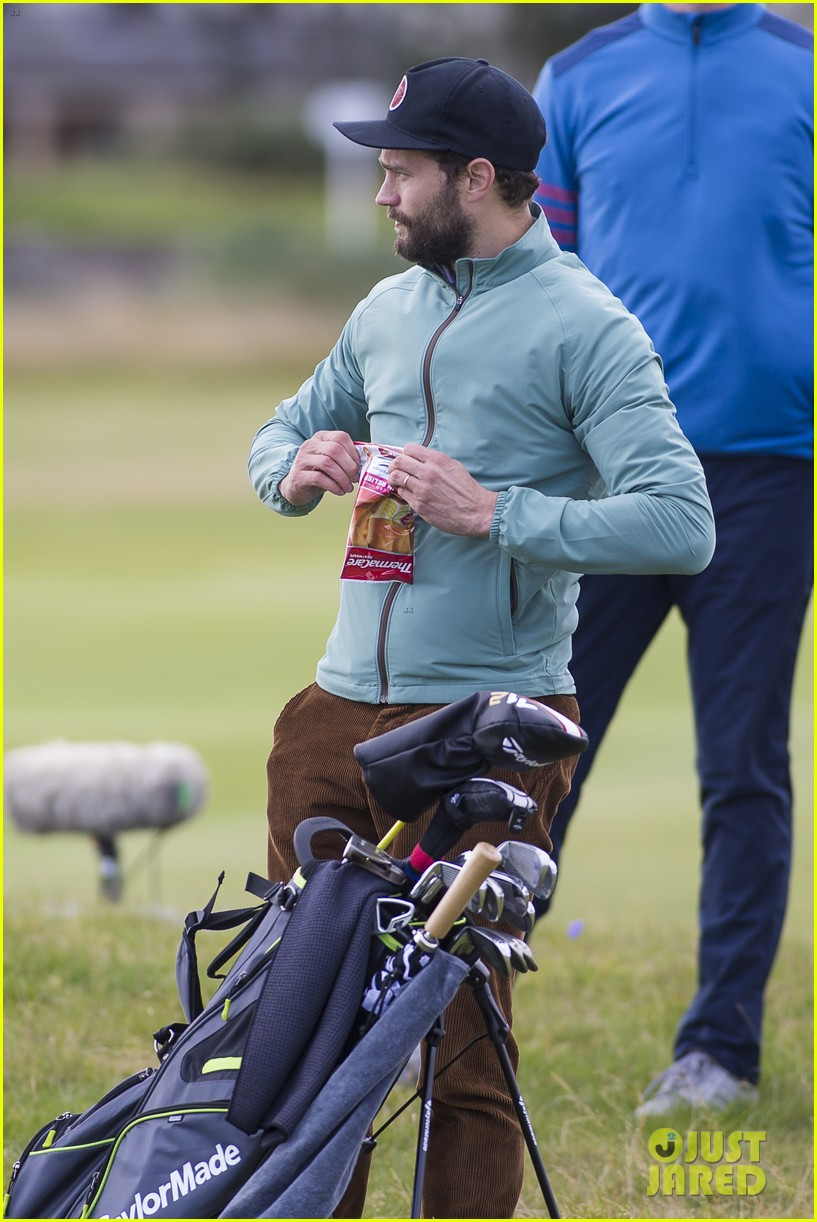 jamie dornan plays in alfred dunhill golf championship 213968672