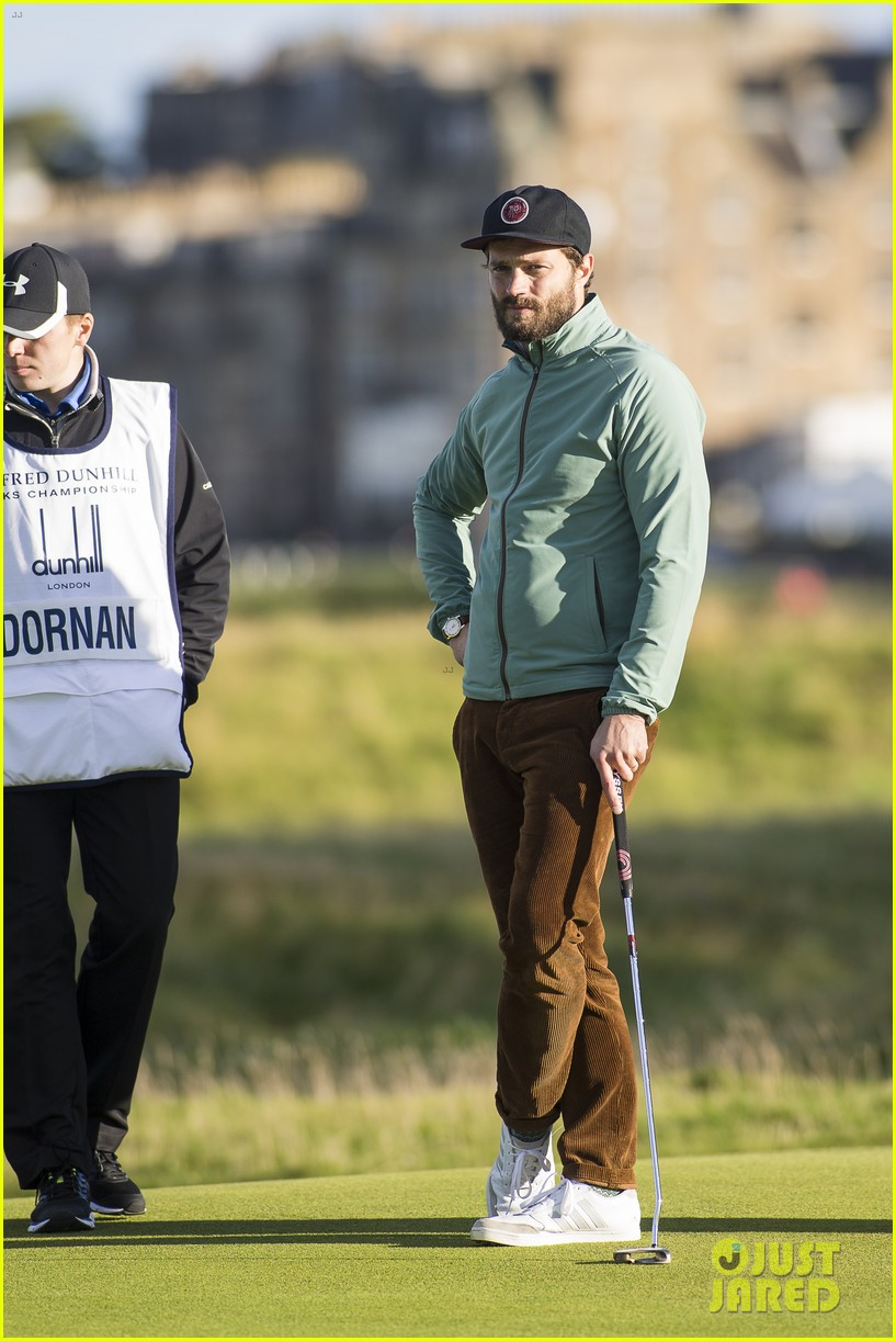 jamie dornan plays in alfred dunhill golf championship 303968681