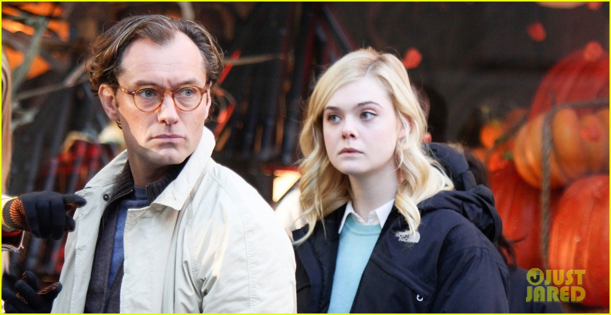 elle fanning jude law and rebecca hall film woody allen movie in nyc 013974722