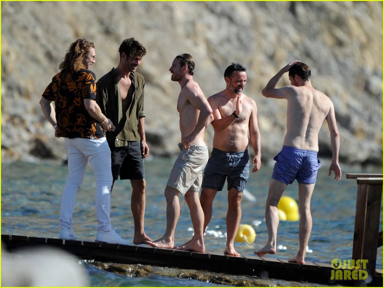 Terry Crews >> Michael Fassbender & Alicia Vikander Host Beach Party ...