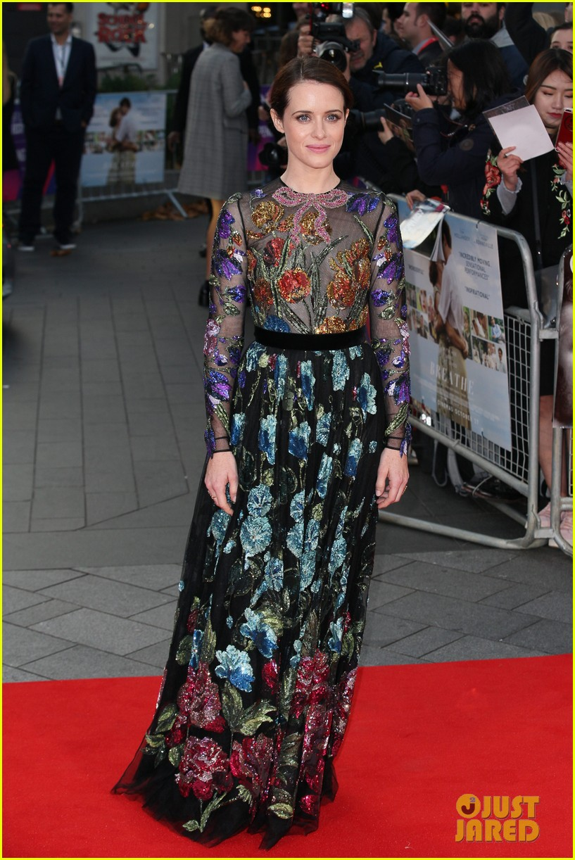andrew garfield claire foy open bfi london film fest with breathe premiere 01