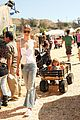 jaime king takes birthday boy james knight pumpkin picking 18