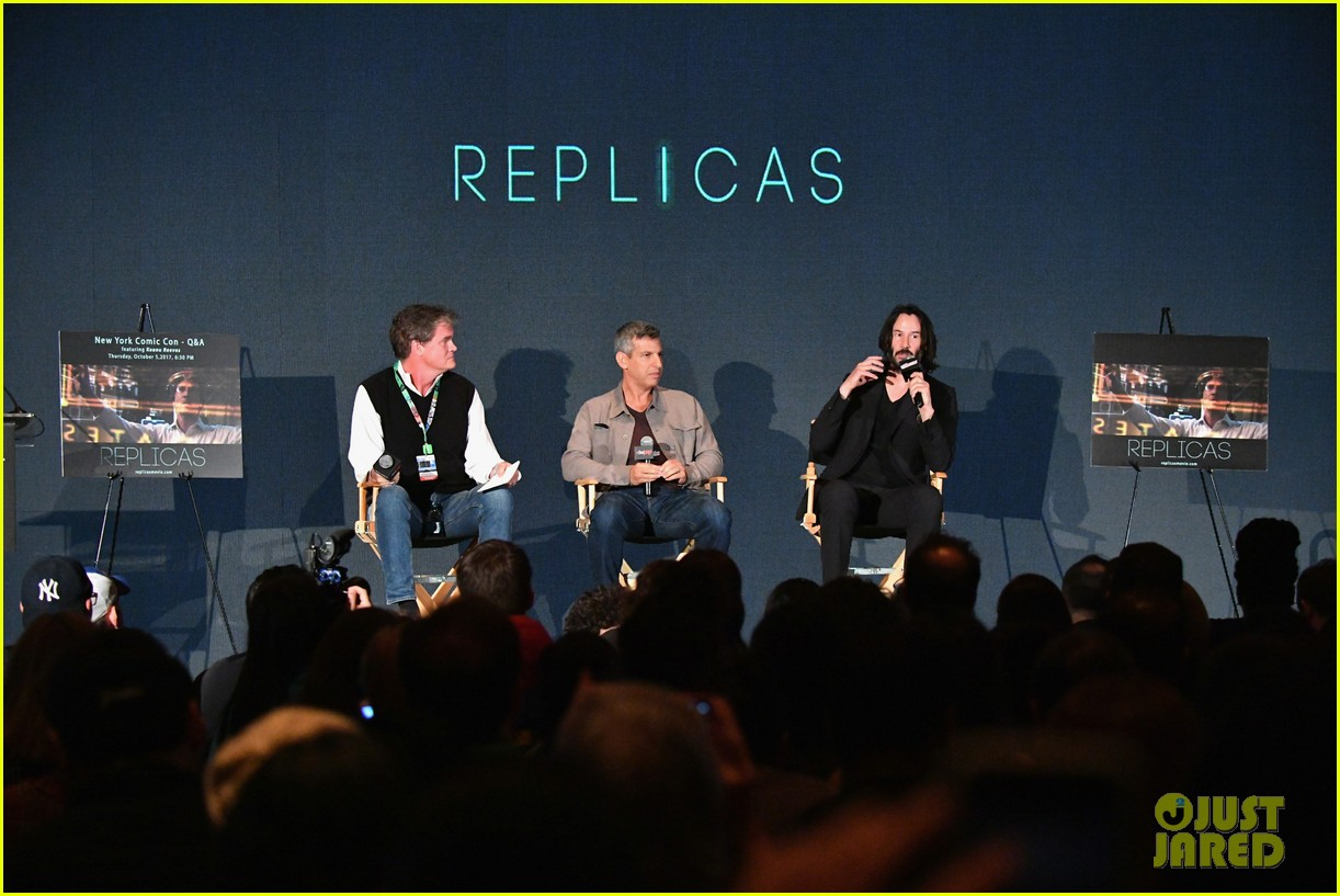 keanu reeves debuts first trailer for replicas at new york comic con 2017 02