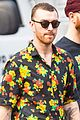 sam smith hangs out with friends ahead of his snl performance 06