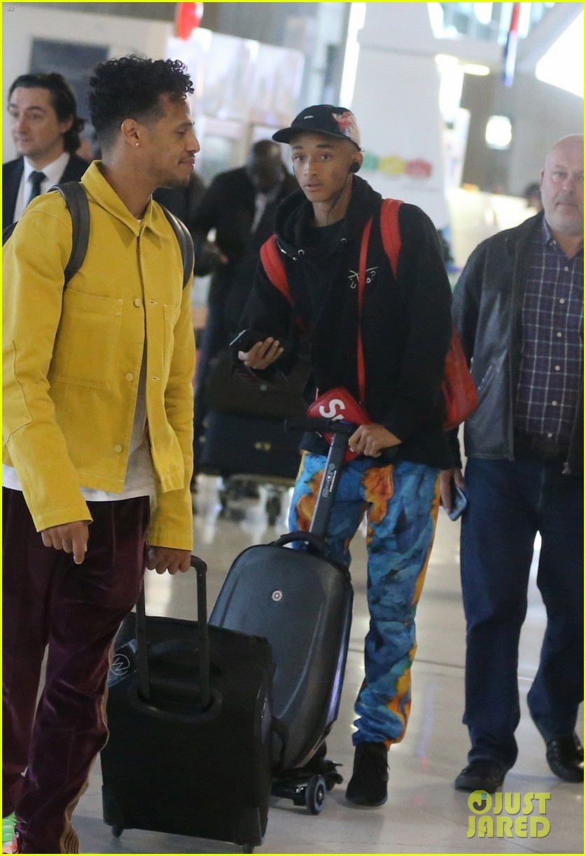 jaden smith scooters his way through paris and lax airports 073968220