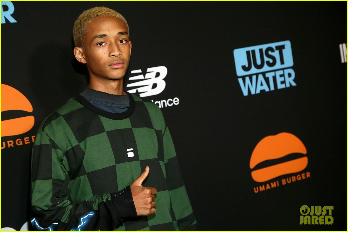 jada pinkett smith supports son jaden at umami burger impossible launch 123971426