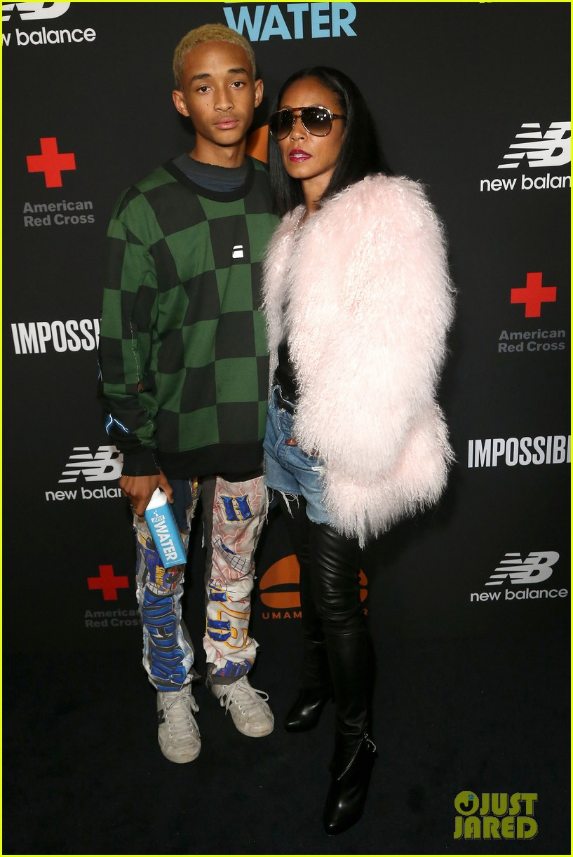 jada pinkett smith supports son jaden at umami burger impossible launch 13