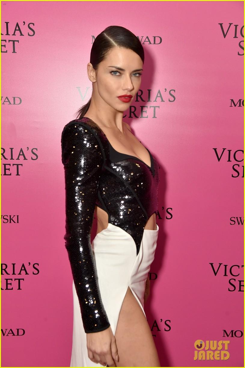 lily aldridge adriana lima candice swanepoel victorias secret fashion show after party 09