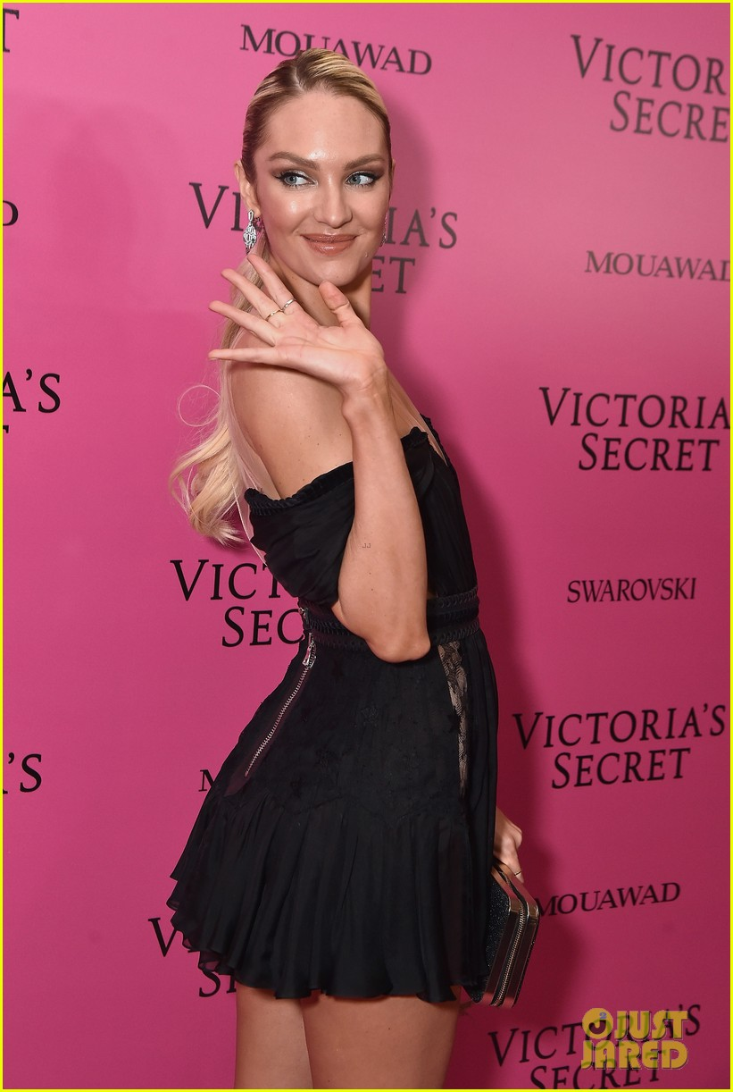 Candice Swanepoel Victorias Secret Fashion Show After Party