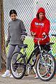 justin bieber selena gomez bike ride together 59
