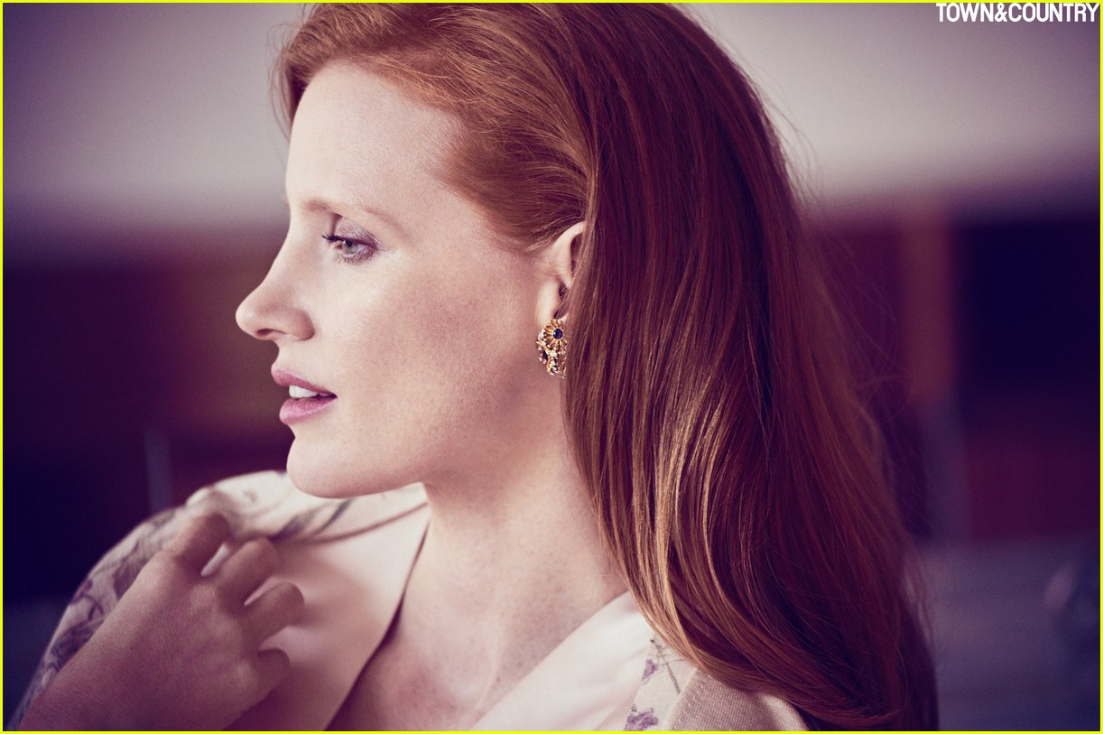 jessica chastain town country magazine 073987272
