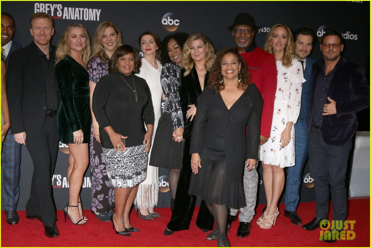 Full Sized Photo Of Greys Anatomy Cast Episode 300 01 Photo