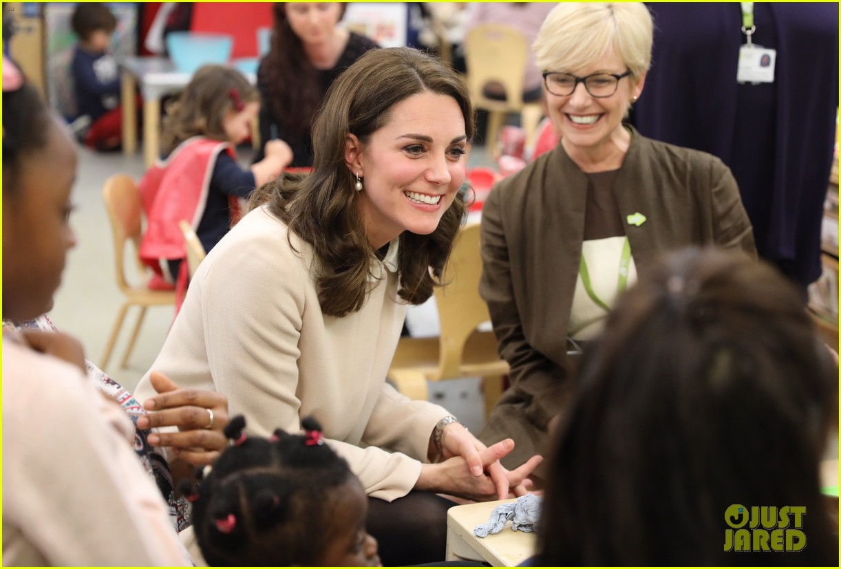 kate middleton supports fellow pregnant moms at rescheduled family action visit 173987304