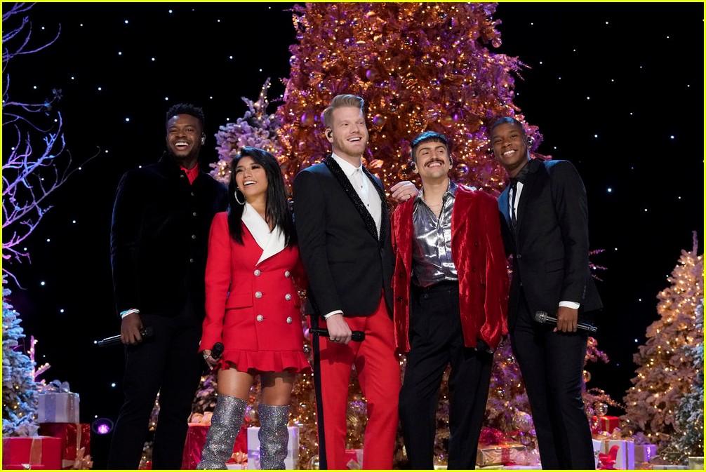 pentatonix christmas show setlist