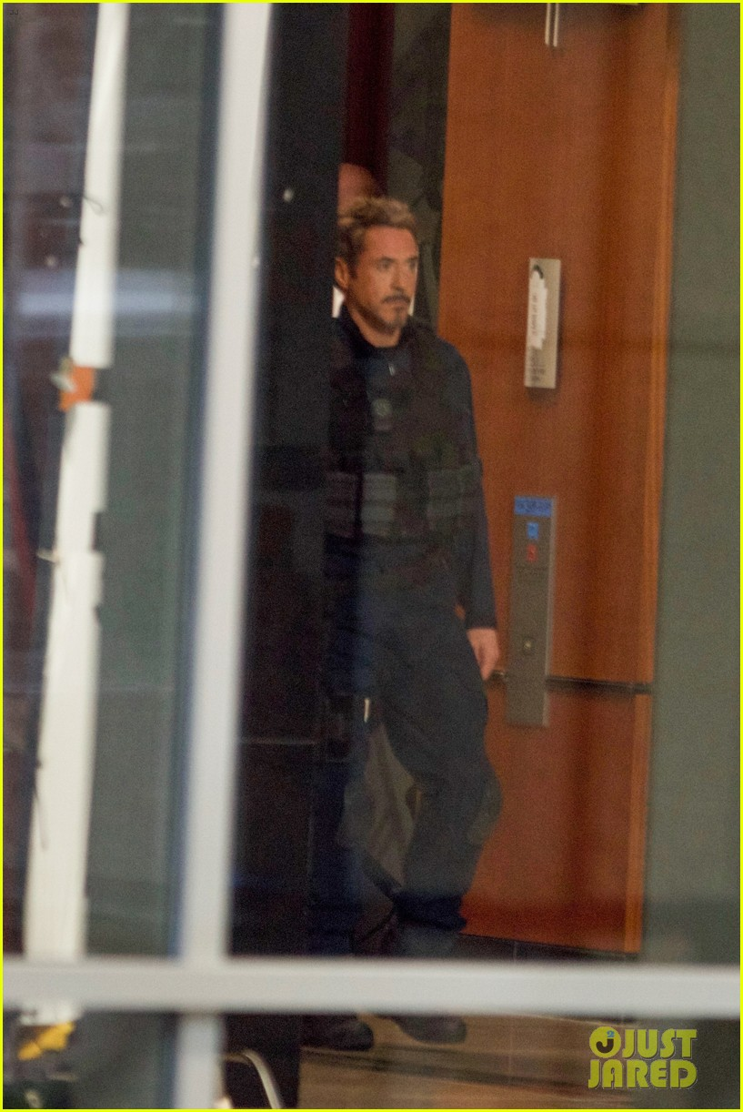 Robert Downey Jr Spotted Filming Avengers 4 For The