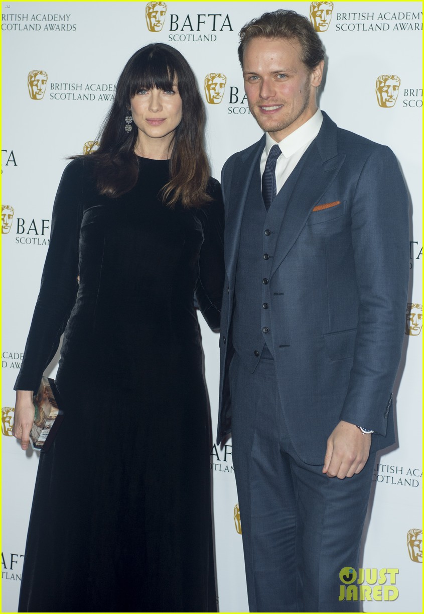 sam heughan caitriona balfe british academy scotland awards 043985567