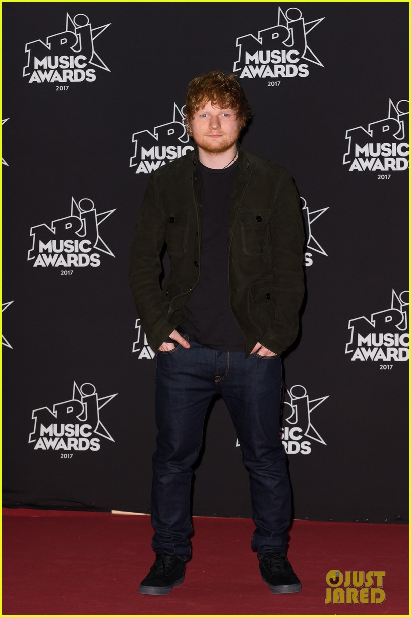ed sheeran the weeknd step out for nrj music awards in cannes 013982725