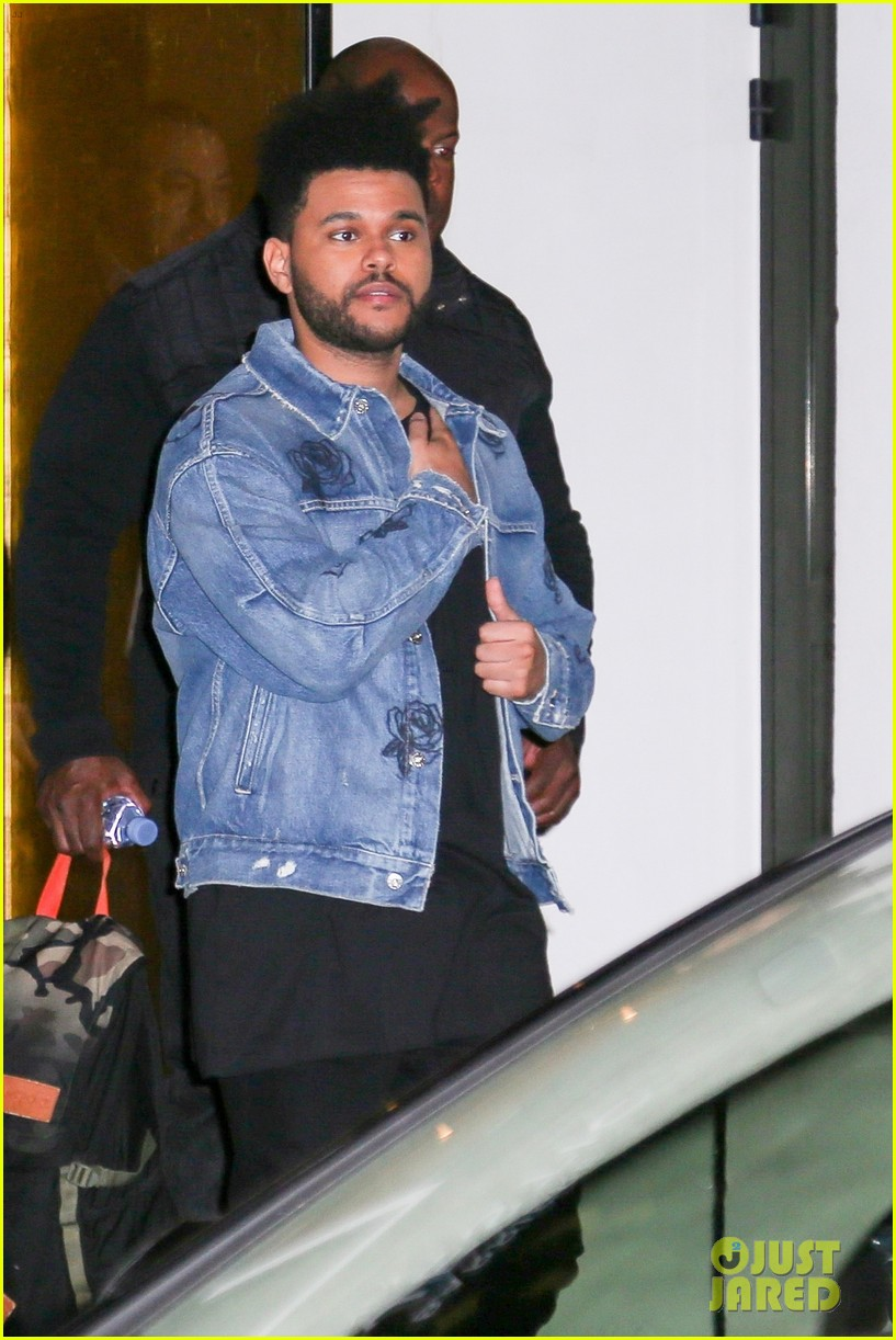 ed sheeran the weeknd step out for nrj music awards in cannes 023982726