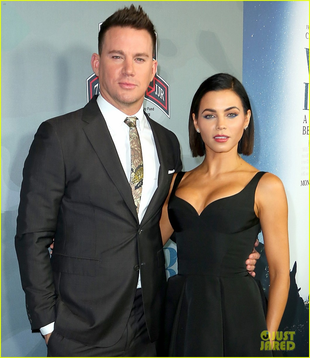 channing tatum premieres documentary war dog a soldiers best friend with wife jenna 01