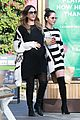 pregnant jessica alba and olivia munn step out for stylish lunch 02