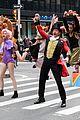 zac efron zendaya and hugh jackman join james corden in epic crosswalk musical 05