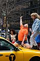 zac efron zendaya and hugh jackman join james corden in epic crosswalk musical 08