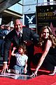 dwayne johnson pregnant lauren hashian jasmine johnson at hollywood walk of fame ceremony 06