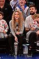 shakira gerard pique bring their kids to christmas day basketball game 03