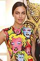 irina shayk wears marilyn monroe pop art on her dress 02
