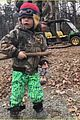gwen stefani blake shelton enjoy a day in the woods with her kids 07