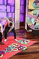 jamie dornan gets up close personal with fan in ellens twister hunky hoopla game 06