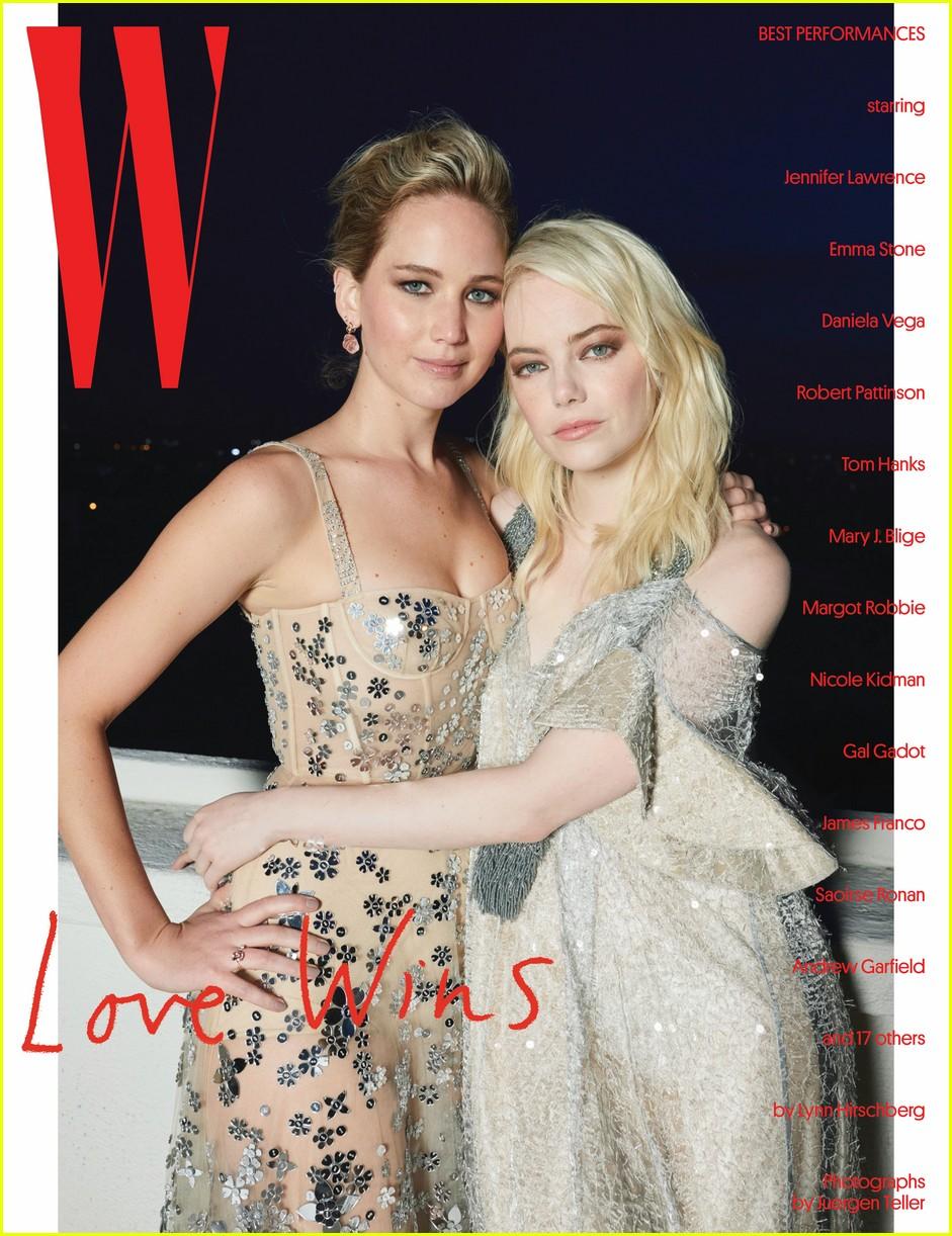 emma stone jennifer lawrence w magazine 004007378