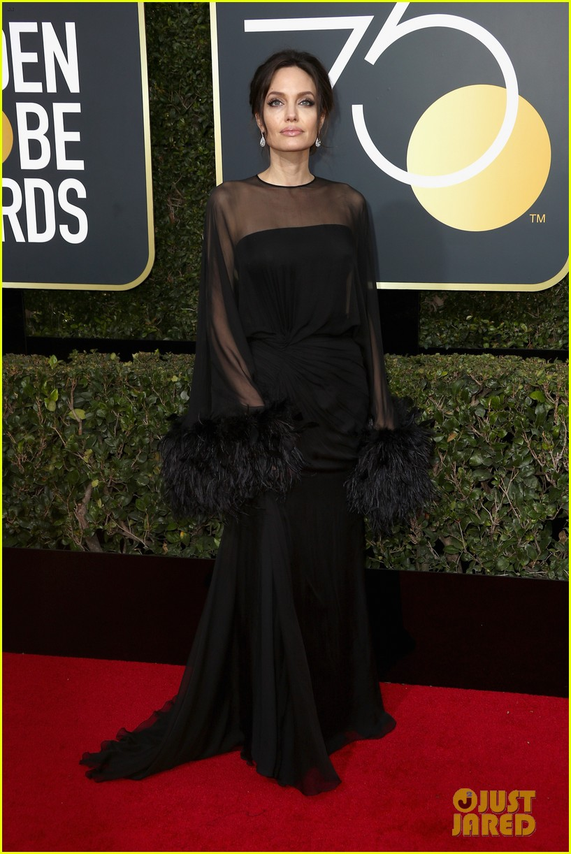 angelina jolie son pax wears times up pin golden globes 2018 054010336