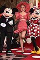 katy perry heidi klum minnie mouse walk of fame 20