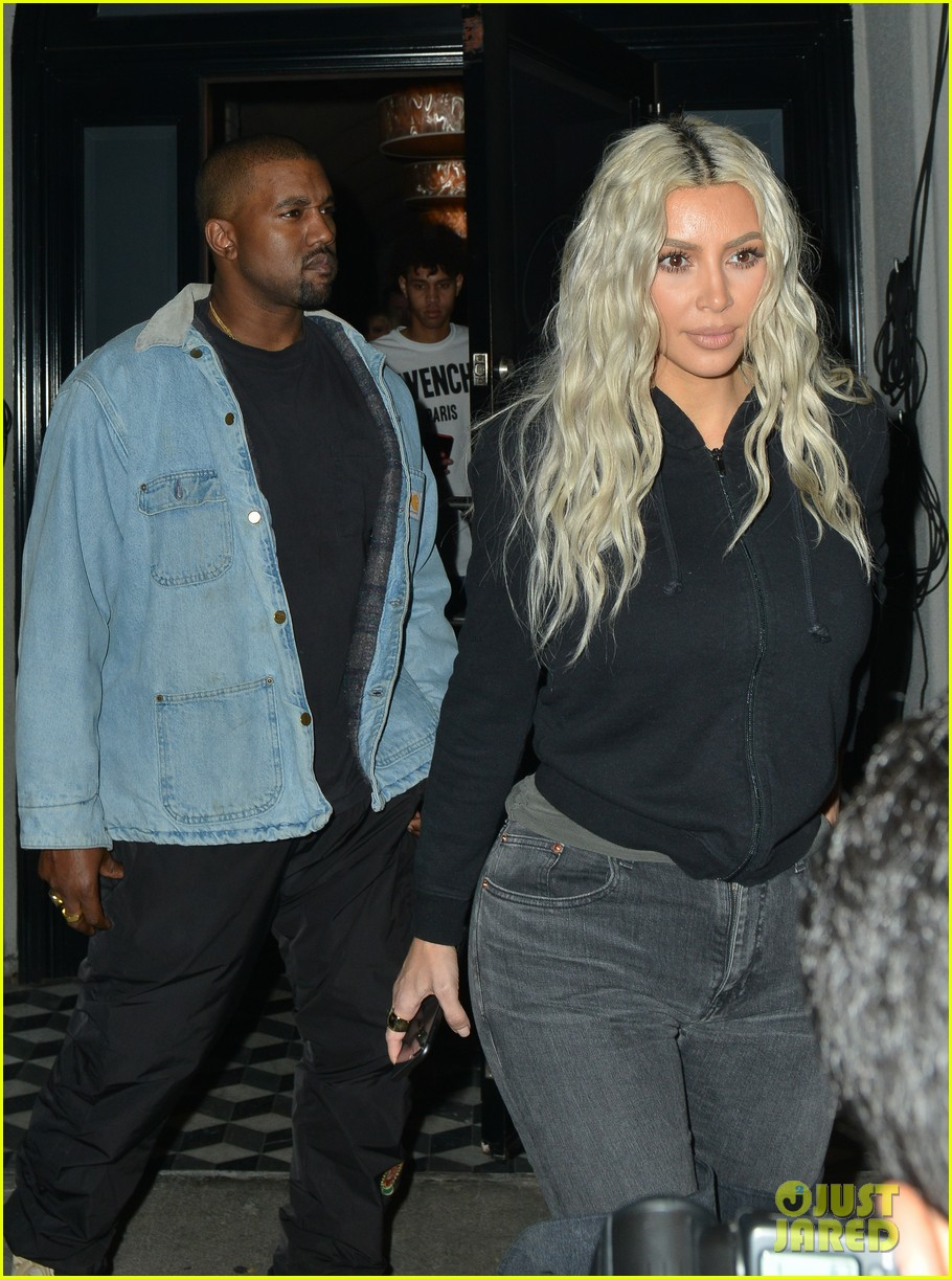 kim kardashian kanye west craigs dinner 044014159