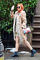 lindsay lohan steps out in style for grandmas 94th birthday 04