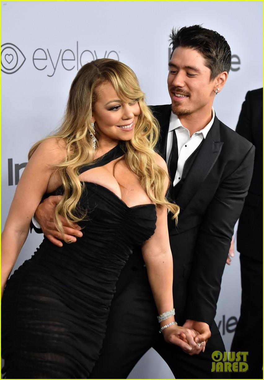 Mariah Carey Gets Flirty With Boyfriend Bryan Tanaka at